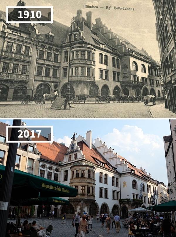 독일, 뮌헨 '호프브로이하우스', 1910~2017