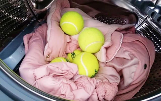 오리털패딩 살리는법 테니스공