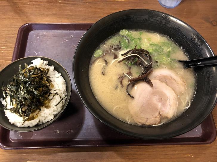 [후쿠오카맛집] 후쿠오카가 원조인 진한 돼지뼈 국물의 돈코츠 라멘《하카타 라멘》