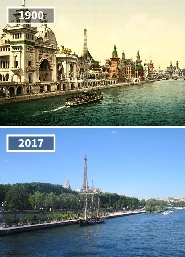 프랑스, 파리 '방파제', 1900~2017