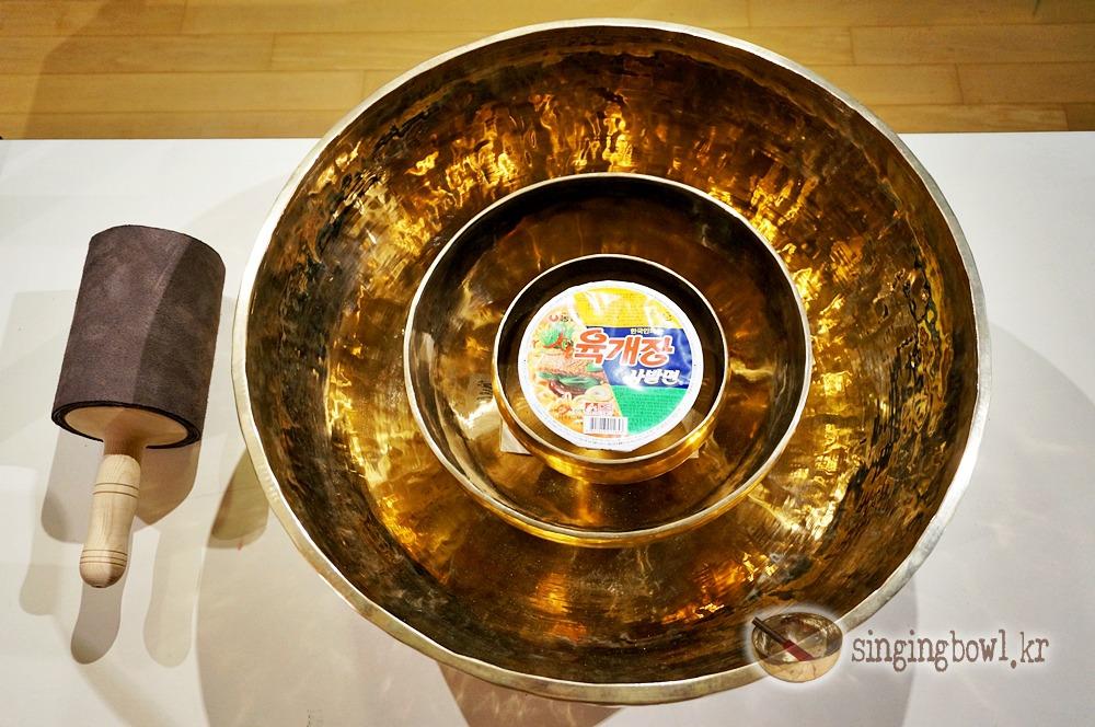 사발면과 티베트 명상주발 52cm, 25cm, 17cm / 빈야사 요가, 명상음악, 아쉬탕카 요가