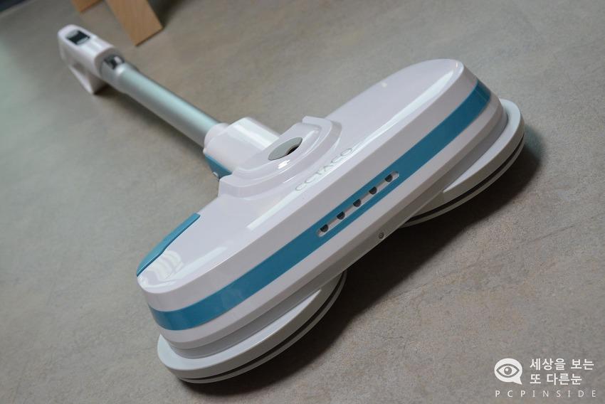물걸레청소로 힘들어하는 가족을 위한 선물. 무선 물걸레 청소기 엑타코
