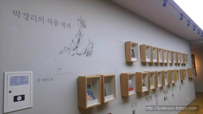 박경리 작가의 작품들