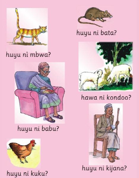 탄자니아 스와힐리어 교과서 1학년 1학기 01 맞나요 아니면 틀린가요?