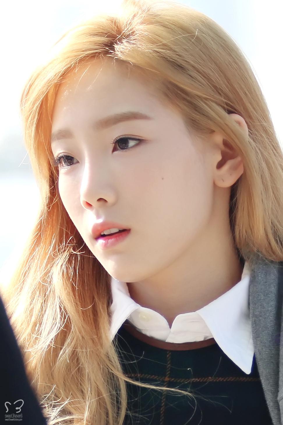 Asian Brows And Blonde Hair Random Onehallyu